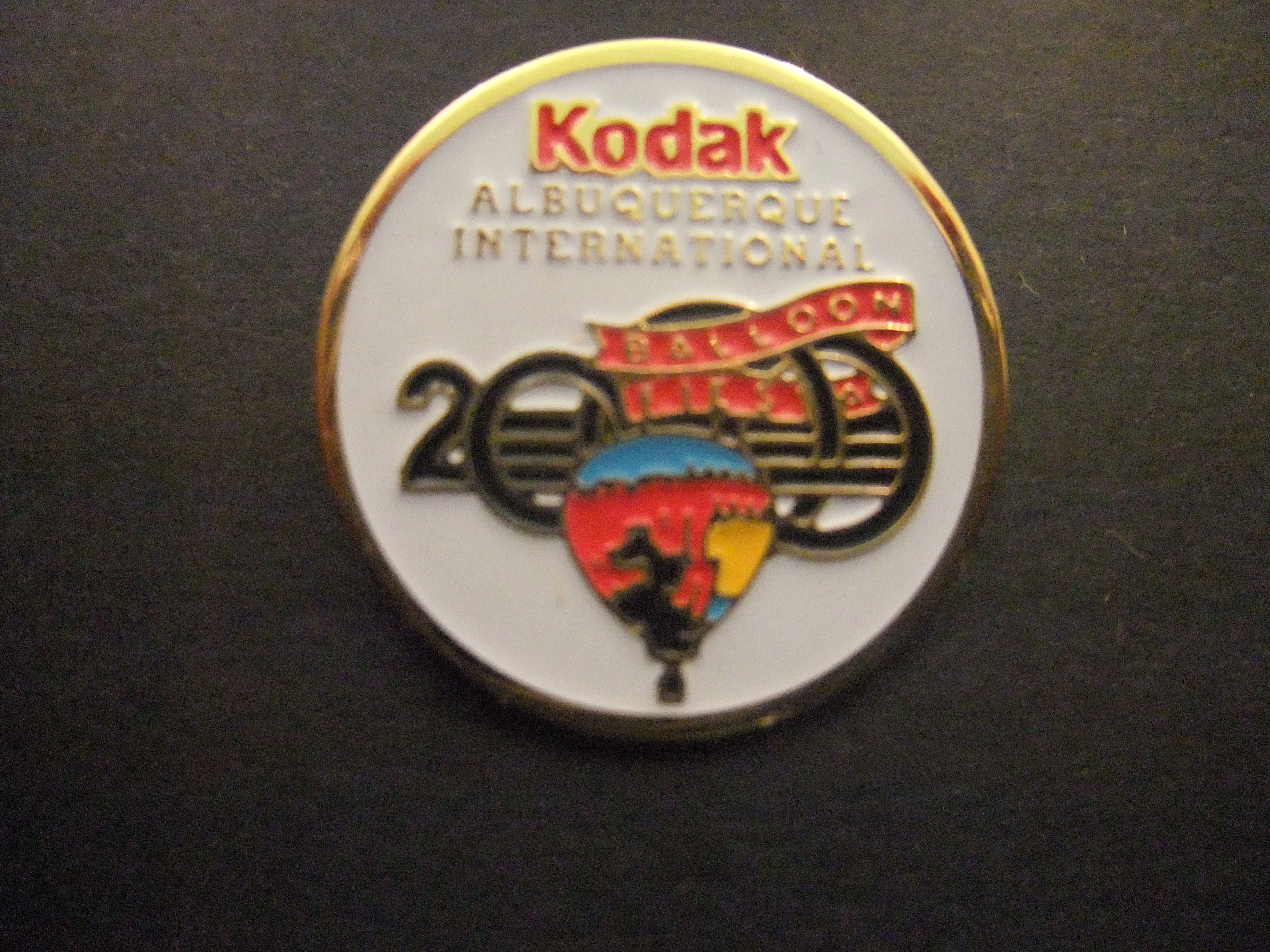 Albuquerque International Balloon Fiesta sponsor Kodak  heteluchtballon